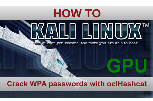 Cracking WPA with oclHashcat GPU on Windows