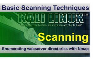 Enumerate webserver directories nmap