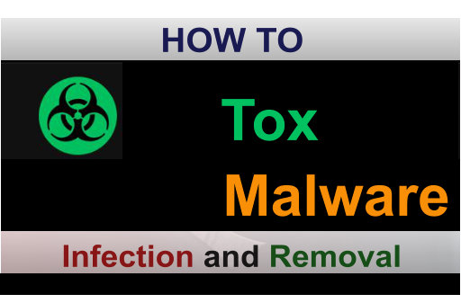 TOX Ransomware infection and removal scr