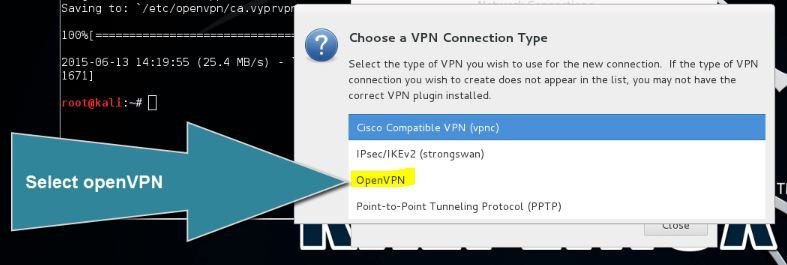 VPN on Kali Linux
