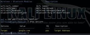 Websploit Cloudflare Resolver Module Tutorial 2