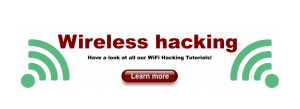 Wireless Hacking Banner