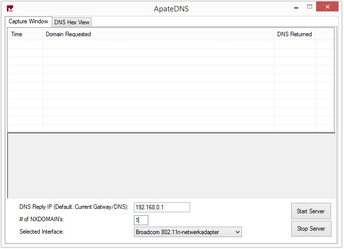 Dynamic Malware Analysis Tools Apatedns