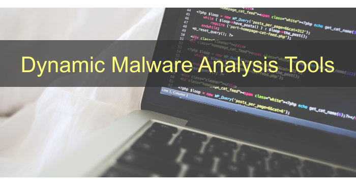 Dynamic Malware Analysis Tools