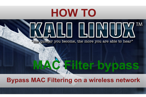 Bypass Mac filtering on a wireless network