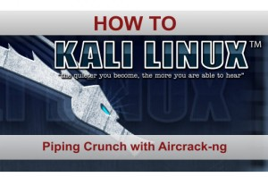 Piping Crunch with Aircrack-ng