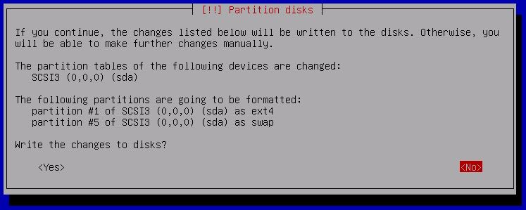 Kali Linux Installation - Partition drives 15