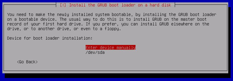 Kali Linux Installation - Select device for GRUB Bootloader 17