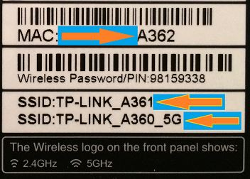 TP Link Archer C5 - Label view 3  - TP Link Archer C5 Label view 3 - TP Link Archer C5 Router Hacking