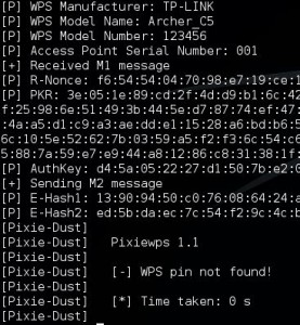 TP Link Archer C5 - Reaver Pixie dust Attack 6