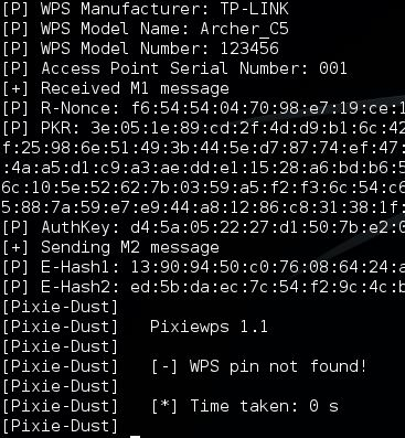TP Link Archer C5 - Reaver Pixie dust Attack 6