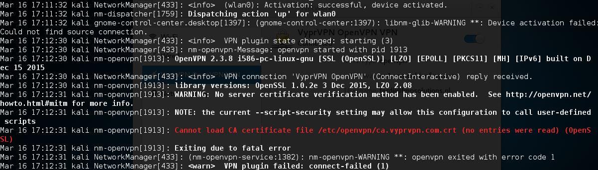 kali linux update commands