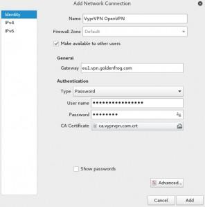 Installing VPN on Kali Linux 2016 - VPN parameters 7