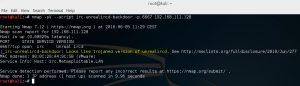 Metasploitable 2 Unreal ircd Nmap script - 4