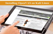 Installing OpenVAS on Kali Linux