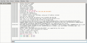 hexchat metasploitable 2 IRC channel
