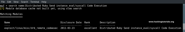 exploiting-druby-rmi-server-1-8-metasploit