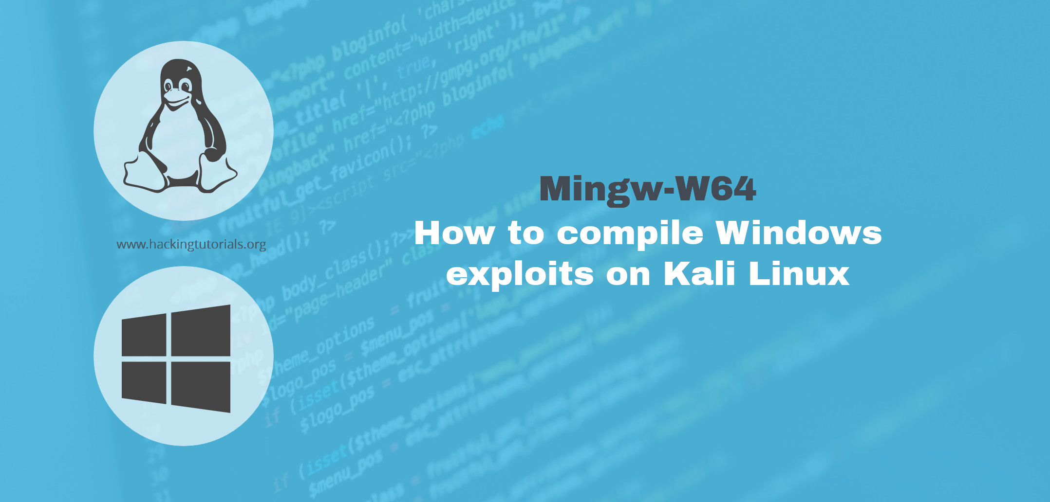 how to use mingw-w64 linux