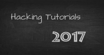 Hacking Tutorials 2017
