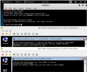 5 - Windows netcat network pivoting example 2