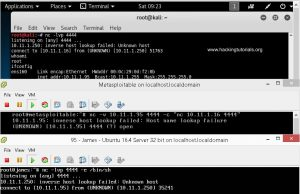 7 - Linux netcat network pivoting example