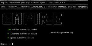 Empire framework Installation