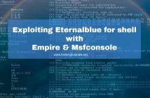 Exploiting Eternalblue for shell with Empire