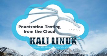 Penetration Testing from the Cloud ft