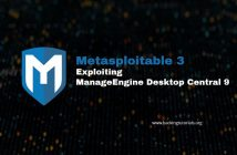 Metasploitable 3 Exploiting ManageEngine Desktop Central 9