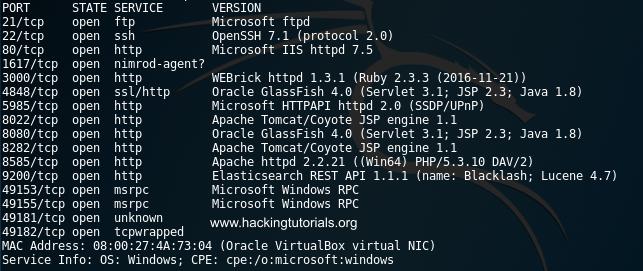 - 01 Metasploitable 3 Nmap - Metasploitable 3: Exploiting HTTP PUT