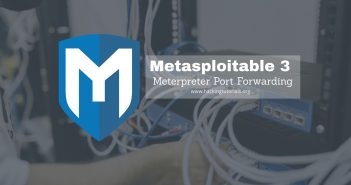 Metasploitable 3 Meterpreter Port forwarding-ft